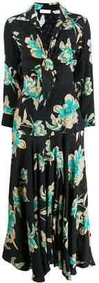 Sandro Paris floral print dress