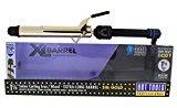 Hot Tools Gold Curling Iron XL Barrel, 1-1/4 Inch