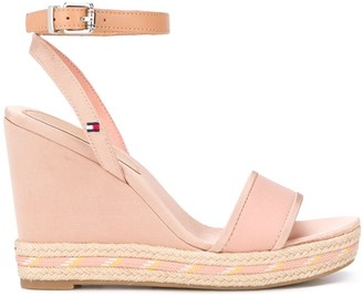 Tommy Hilfiger Ankle Strap Wedge Sandals