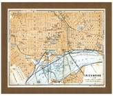Richmond Framed Map of Richmond, VA Wall Décor
