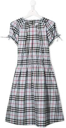 Burberry TEEN Check Joyce dress