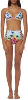 Mara Hoffman Triangle Bralette Bikini Top