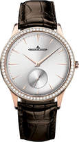 Jaeger-LeCoultre Jaeger Le Coultre Q1352520 Master Ultra Thin stainless steel and alligator leather watch
