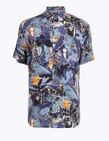 M&S CollectionMarks and Spencer Jungle Print Shirt