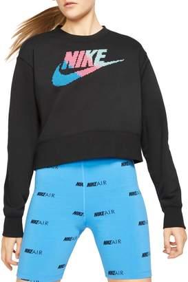 Nike Logo Fleece Sweatshirt