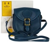 J.W. Hulme Co. Blue Legacy Leather Handbag