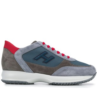 Hogan Interactive colour-block sneakers