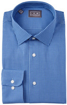 Ike Behar Oxford Gingham Full Fit Dress Shirt