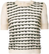 Emporio Armani short sleeved sweater
