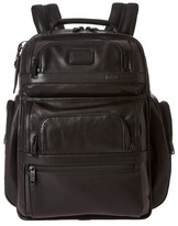 Tumi Alpha 2 T-Pass Business Class Leather Brief Pack Briefcase Bags