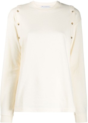 J.W.Anderson Button Detail Top