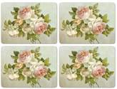 Pimpernel Antique Rose Placemats - Set Of 4 (Large)