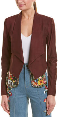 Alice + Olivia Harvey Suede Jacket