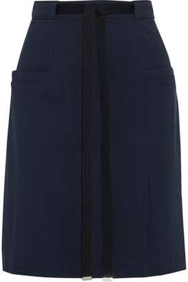 Tibi Belted Cady Mini Skirt