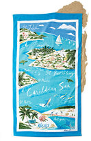 Ralph Lauren Home Caribbean Destination Beach Towel