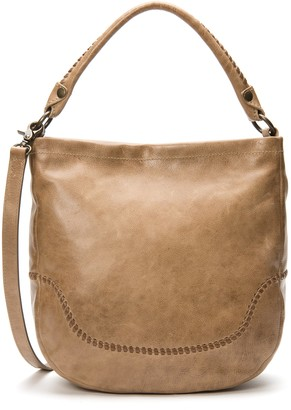 Frye Melissa Whipstitch Hobo Shoulder Bag