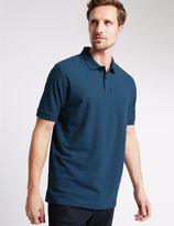 Marks and Spencer Big & Tall Pure Cotton Polo Shirt