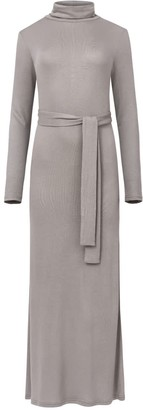 Saint Body High Neck Long Dress