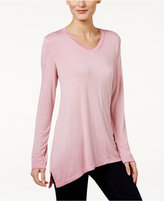 Style&Co. Style & Co Handkerchief-Hem Top, Only at Macy's