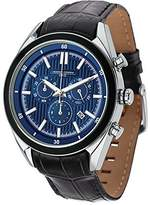 Jorg Gray JG6900-22 Men's Watch Chronograph Dial With Integrated Black Genuine Leather Strap