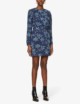 Reiss Melody woven mini dress