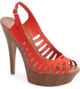 Jessica Simpson 'Finch' Platform Peep Toe Sandal (Women)