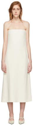 The Row Off-White Paola Dress