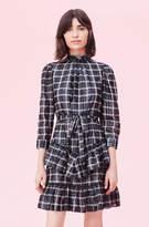Rebecca Taylor La Vie Lame Plaid Dress