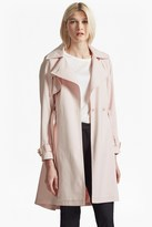 French Connection Oversized Lapel Trench