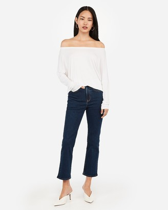 Express Relaxed Off The Shoulder London Tee