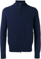 Malo textured zip cardigan - men - Cotton - 50