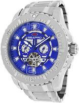 Seapro Tidal PX1 Mens Blue Dial Stainless Steel Bracelet Watch