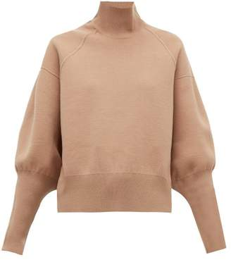 Acne Studios Kelenor Balloon-sleeve Sweater - Womens - Camel