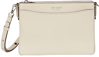 Kate Spade Margaux Medium Convertible Crossbody (Blush Multi) Handbags