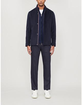 Ted Baker Funnel neck wool-blend jacket