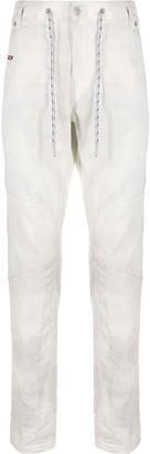 Diesel D-Luhic high-rise slim-fit jeans