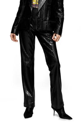 Topshop Sequin Trousers