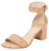 Two-Piece Block Heel Sandal