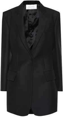 Valentino Silk and wool blazer