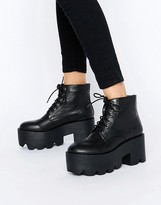 London Rebel Super Chunky Boot