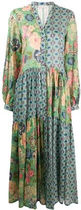 Anjuna Mixed Print Maxi Dress
