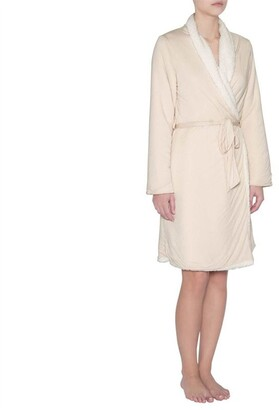Eberjey Alpine Chic The Aspen Robe Shell M