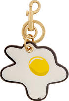 Anya Hindmarch Off-White Egg Keychain
