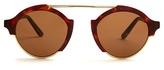 Illesteva Milan Havana Sunglasses
