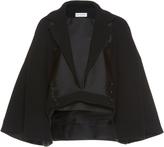 Dice Kayek Monochromatic Cropped Jacket