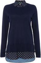 Lauren Ralph Lauren Dejanne knitted tunic