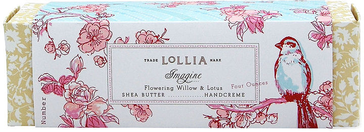Lollia Flowering Willow & Lotus Shea Butter Handcreme, Imagine 0.33 oz (21 g)