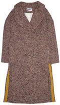 Cacharel Mohair/ Cotton/ Tweed Coat