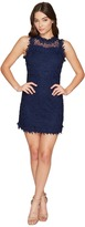 Romeo & Juliet Couture Sleeveless Sheer Back Dress