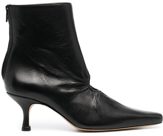 Kalda Cut-Out Ankle Boots
